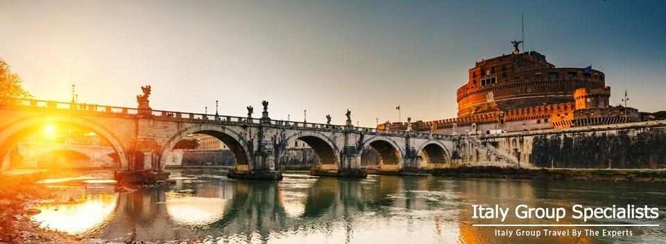 Sant'Angelo Castle from the Tiber River, Rome