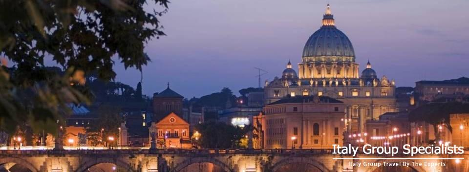 Vatican City, Rome at Night