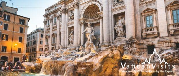 Beautiful Trevi Fountain