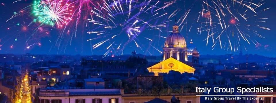 Rome Italy, New Years